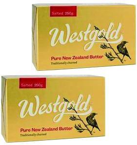 NZ産 グラスフェッドバター ウエストランド有塩バター 250g×2個セット ムラカワ 【チルド】