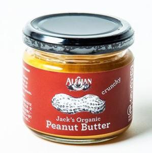 Alishan ミニサイズ 有機ピーナッツバタークランチ  120gx8個セット