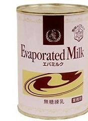 雪印 エバミルク  無糖練乳 缶入り 411g x24個セット