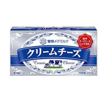 雪印 クリームチーズ 200g x36個セット 【チルド】