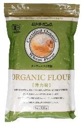 ムソー オーガニック小麦粉・薄力粉 500g