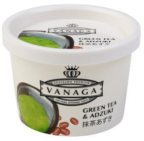 【冷凍商品】木次 VANAGA抹茶あずきアイスクリーム 120ml