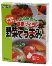 【送料無料(メール便)】ムソー muso 野菜でうまみ〈食塩無添加〉 3.5×6 ムソー muso