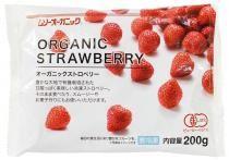 【冷凍】ムソー オーガニックストロベリー 200g