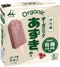 【冷凍】ムソー 井村屋 オーガニックあずきバー箱6本入