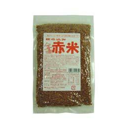【送料無料(メール便)】炊き込み 赤米 250gx2個セット 富士食品 創健社
