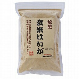富士食品 玄米はいが 焙煎粉末 300g 創健社
