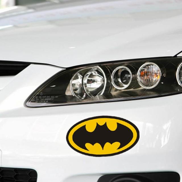 【送料無料】バットマン DCコミック ヒーロー エンブレム 自動車 バイク用ステッカー カーステッカー 8*14.5cm G139