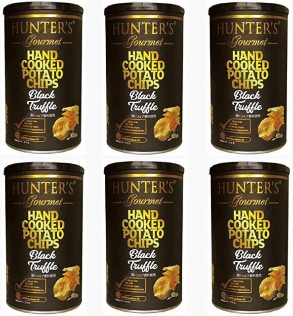 まとめ売り 6個セット ビック缶 150g 今夜比べてみました ハンターズ 黒トリュフ ポテトチップス ハンター 150g Big缶