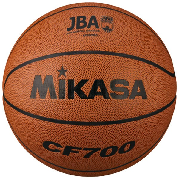 ミカサ バスケットボール 検定球7号 人工皮革 CF700