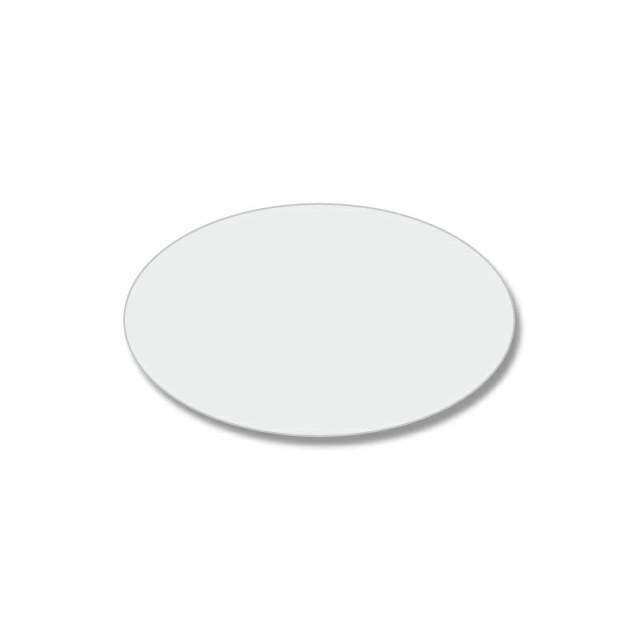 【ゆうパケット/20束まで送料200円】HEIKO タックラベル(シール) No.400 透明シール 楕円・薄口 13x22mm 12