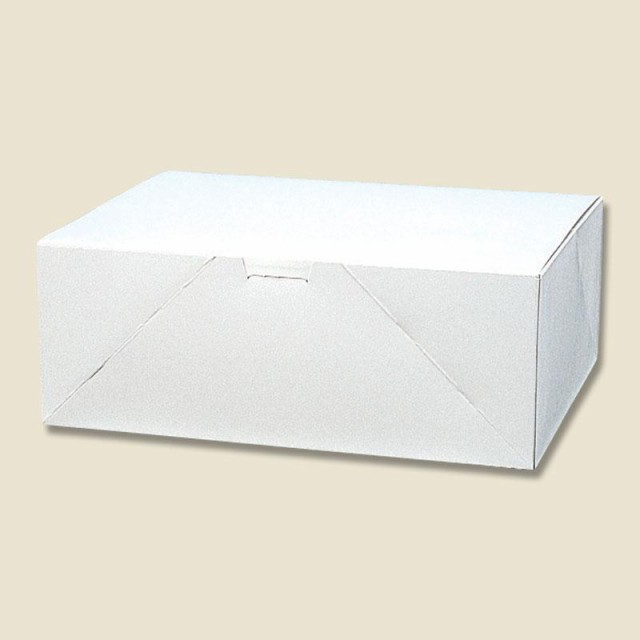 HEIKO 箱 ケーキ用ケース 洋生 白 D ケーキ18個用 50枚