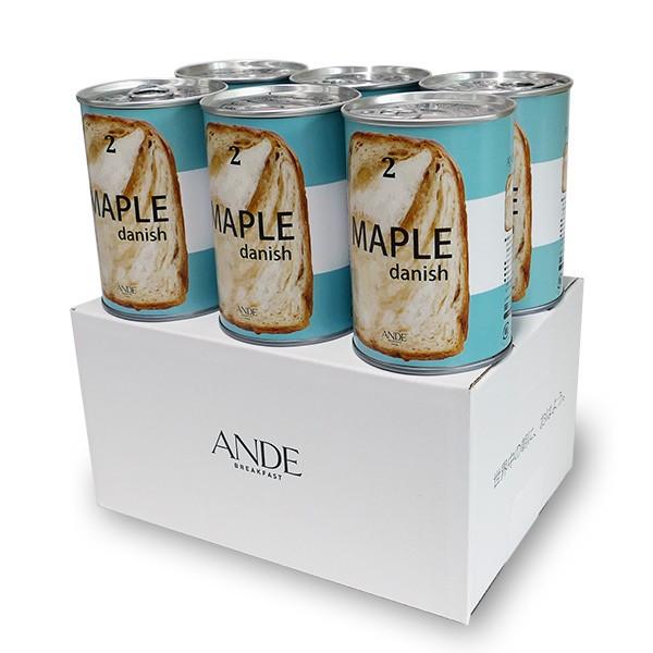 ANDE デニッシュ缶 メープル 6缶セット [#1009]