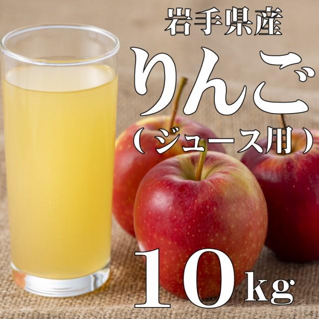 りんご 訳あり ジュース用 岩手県産 10kg