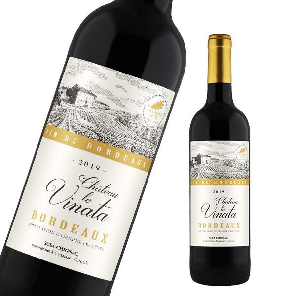ワイン シャトー・ル・ヴィナタ ボルドー フランス 辛口 赤ワイン フランスワイン 赤