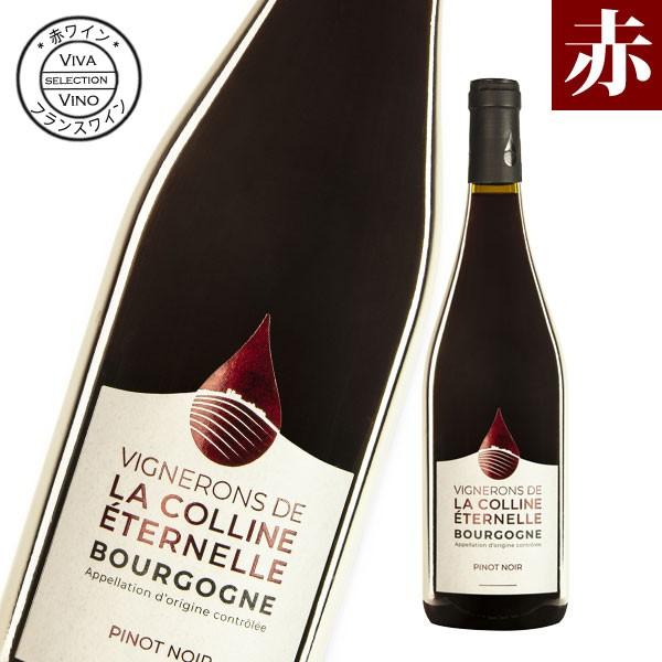 ワイン 赤ワイン ヴィネロン・ド・ラ・コリーヌ・エテルネル ブルゴーニュ ピノ・ノワール フランス産 辛口 赤 フランスワイン ブルゴー
