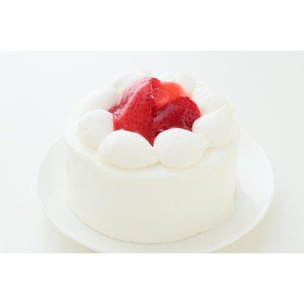 苺のデコレーションケーキ3号【送料無料】1人分サイズ直径9cm