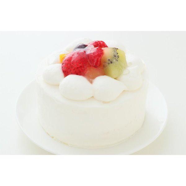 フルーツデコレーションケーキ4号【直径約12cm】2人分サイズのバースデーケーキ:送料無料