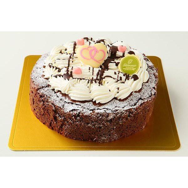 ガトーショコラ5号【送料無料】3〜4人分サイズのチョコレートケーキ!