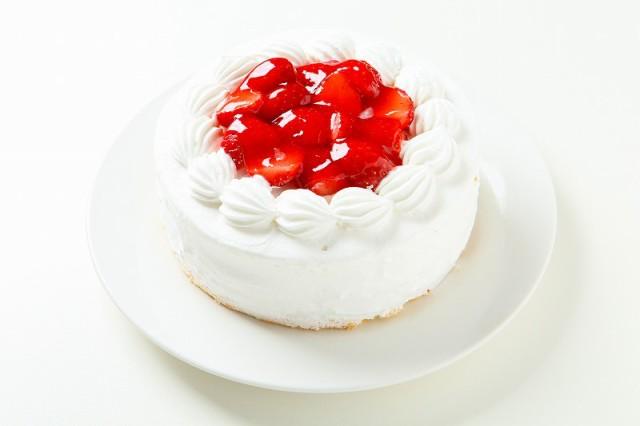 卵不使用誕生日ケーキ、卵アレルギー対応苺生クリームケーキ6号