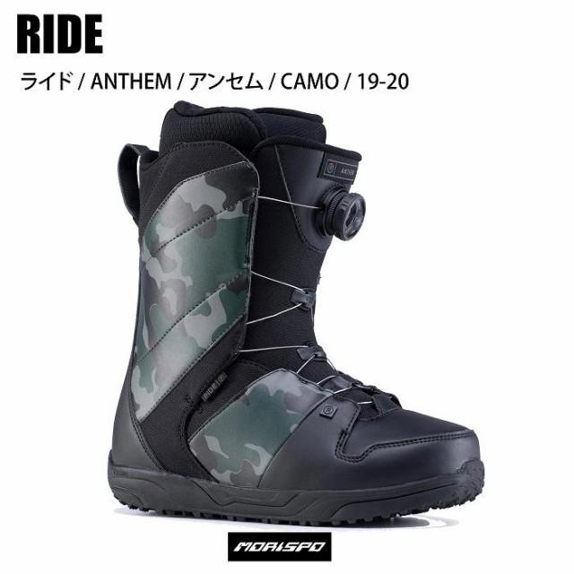 RIDE ライド ANTHEM アンセム カモ 19-20 ボードブーツ ボア[メーカー取り寄せ]