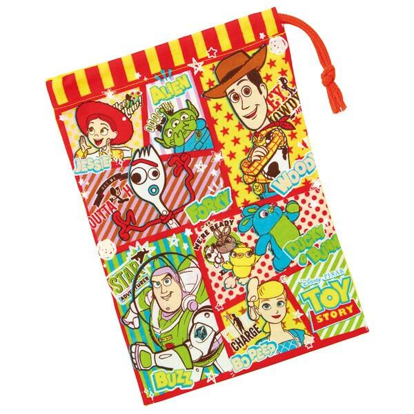 スケーター 子供用 コップ袋 トイ・ストーリー 21 ディズニー 日本製 KB62