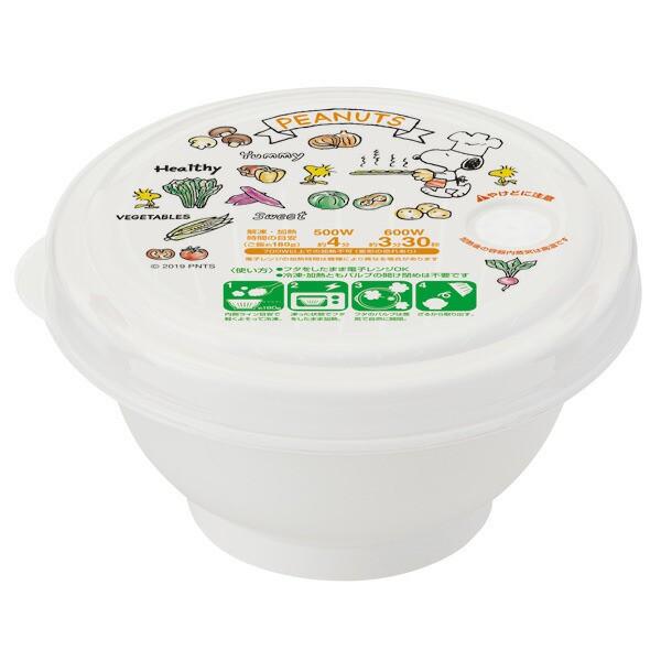 スケーター 薄肉 ごはん 冷凍保存容器 S 270ml スヌーピー ピーナッツ 日本製 RGO1