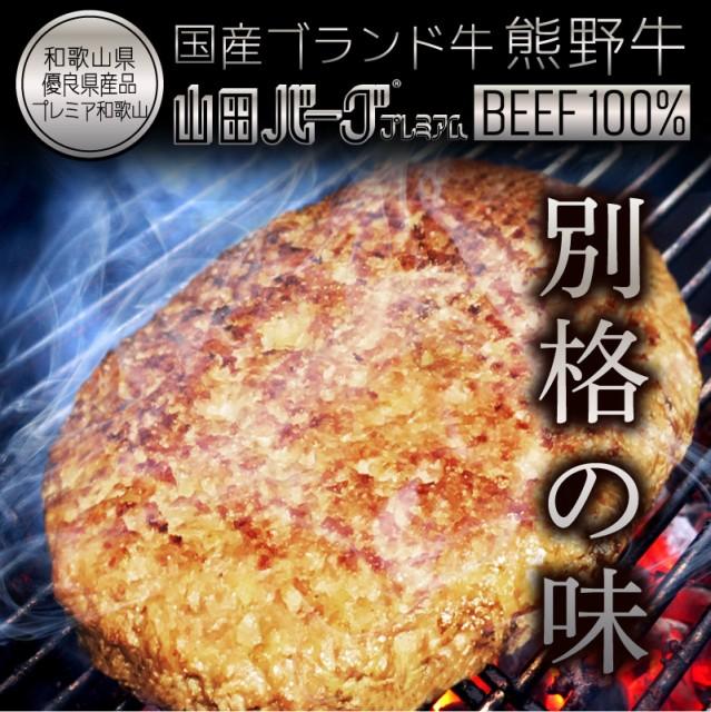 国産 高級 ハンバーグ 熊野牛 山田バーグ 1 350g 大きい BIG サイズ 美味しい BBQ バーベキュー グルメ ギフト 冷凍 食品 お取り寄せ