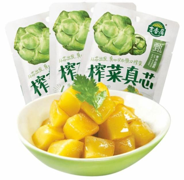 吉香居 搾菜真芯 ザーサイ 175g 中華物産 中華食品