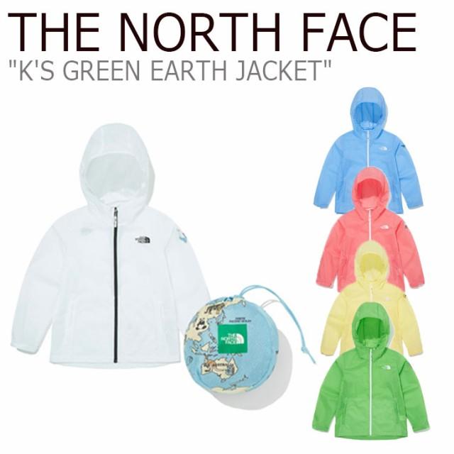 ノースフェイス ジャケット THE NORTH FACE K S GREEN EARTH JACKET キッズ グリーンアース ジャケット 全5色 NJ3LM07S/T/U/V/W ウェア