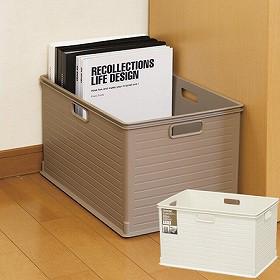 カラーボックス用 収納ボックス RE 高さ24cm( インナーケース インナーボックス 引き出し 引出し 収納ケース プラスチック コンテナ 積