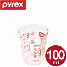 計量カップ 100ml 耐熱ガラス パイレックス PYREX メジャーカップ ( 計量コップ 計量器具 目盛り付き 食洗機対応 電子レンジ対応 冷凍対