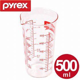 計量カップ 500ml 耐熱ガラス パイレックス PYREX メジャーカップ ( 計量コップ 計量器具 目盛り付き 食洗機対応 電子レンジ対応 冷凍対