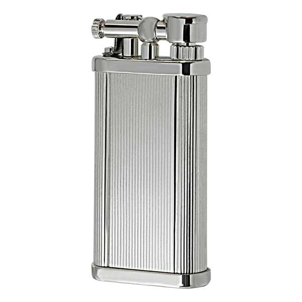DUNHILL ダンヒル フリントガスライター ユニーク・ポケット UNIQUE POCKET ユニークポケット シガー用 Silver Plate Lines UL1302