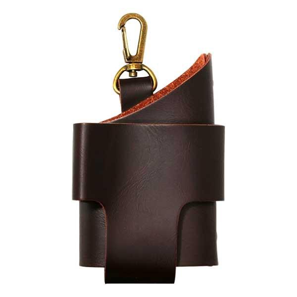 加熱式タバコケース IQOS アイコスケース Style2 カラビナ BROWN ブラウン