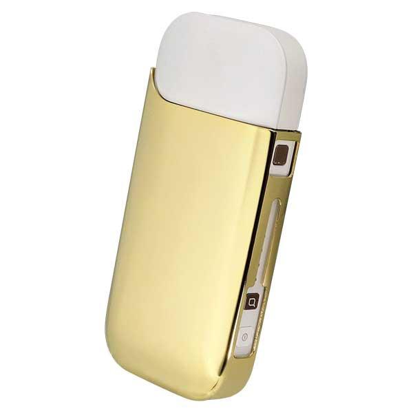 加熱式タバコケース i-STYLES IQOS アイコスケース ゴールド ISP-001-GO2