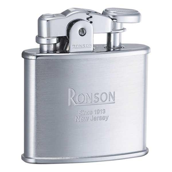 RONSON ロンソン フリントオイルライター スタンダード Standard クロームサテン CHROME SATIN R02-0026