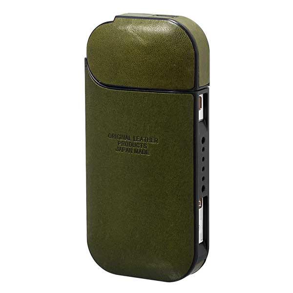 加熱式タバコケース IQOS アイコスケース フルカバーシリーズ ジーンズ L-20468 KHA