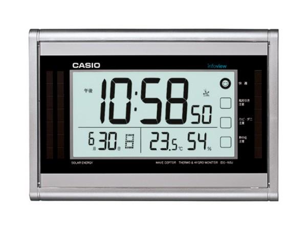 dff98aa6ef カシオ CASIO インテリアクロック ソーラー 電波 壁掛け時計 IDS-160J-8JF 国内正規 ...