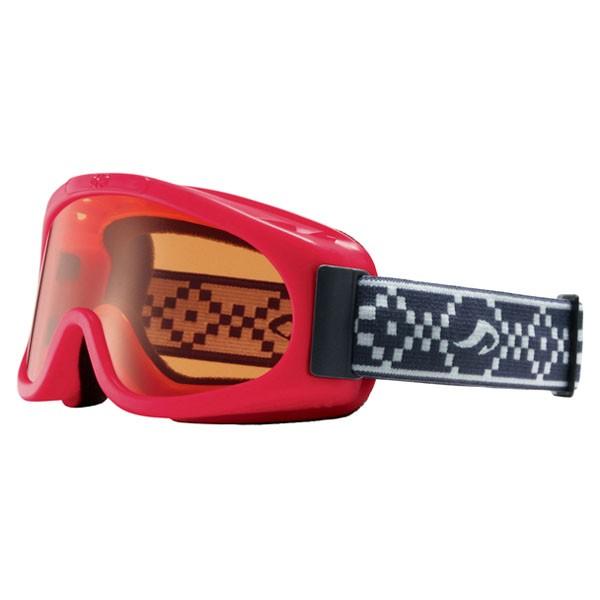 AXE(アックス) スキー ゴーグル Junior&Kids AX220D RE レッド