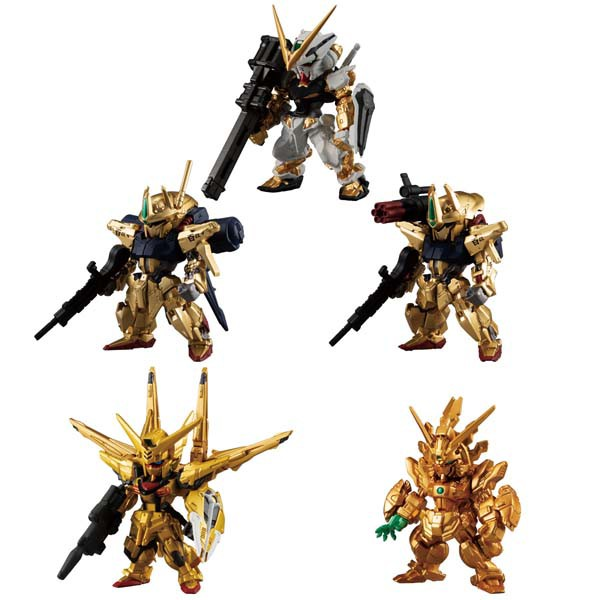 FW GUNDAM CONVERGE GOLD EDITION BOX(8個入) 食玩
