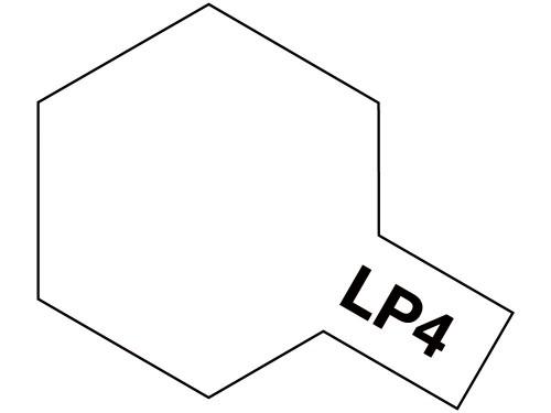 タミヤ ラッカー塗料 LP-4 フラットホワイト 《塗料》