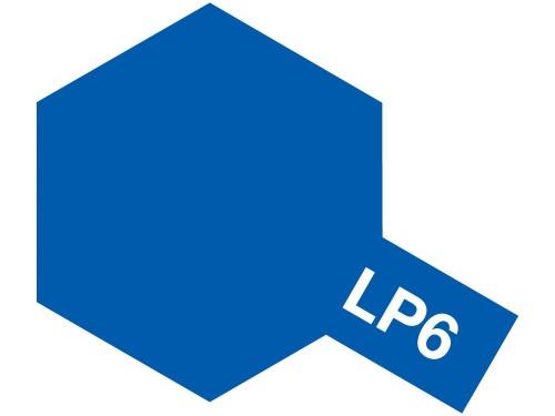 タミヤ ラッカー塗料 LP-6 ピュアーブルー 《塗料》