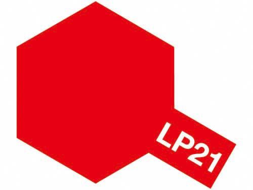 タミヤ ラッカー塗料 LP-21 イタリアンレッド 《塗料》
