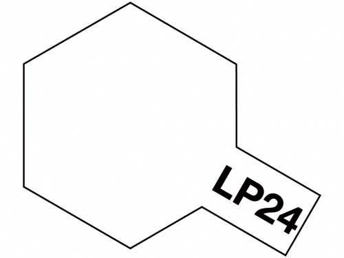 タミヤ ラッカー塗料 LP-24 セミグロスクリヤー 《塗料》