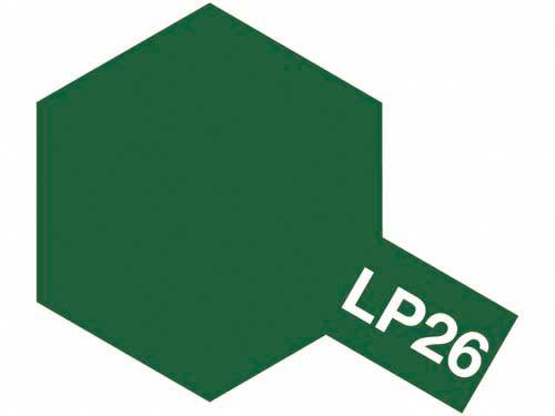 タミヤ ラッカー塗料 LP-26 濃緑色(陸上自衛隊) 《塗料》