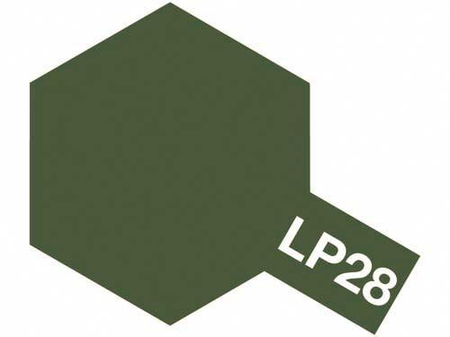 タミヤ ラッカー塗料 LP-28 オリーブドラブ 《塗料》