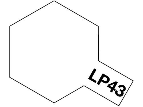 タミヤ ラッカー塗料 LP-43 パールホワイト 《塗料》
