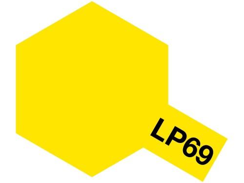 タミヤ ラッカー塗料 LP-69 クリヤーイエロー 塗料