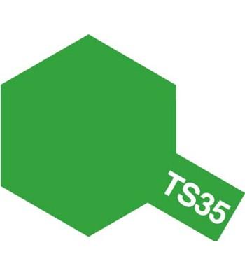 タミヤカラースプレー TS35 パークグリーン 《塗料》